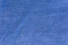 Tissu bleu de fond pour les sofas et la maison tapissés Photos libres de droits
