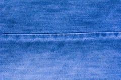 Tissu bleu de fond pour les sofas et la maison tapissés Photo libre de droits