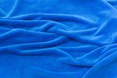 Tissu bleu de fond pour les sofas et la maison tapissés Image stock