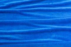Tissu bleu de fond pour les sofas et la maison tapissés Photographie stock