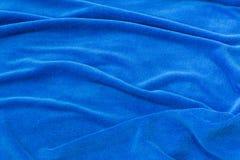 Tissu bleu de fond pour les sofas tapissés et les meubles à la maison Photos stock