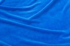 Tissu bleu de fond pour les sofas tapissés et les meubles à la maison Image stock