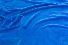 Tissu bleu de fond pour les sofas tapissés et les meubles à la maison Images stock