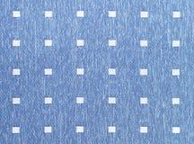 Tissu bleu de trellis de lac Image libre de droits