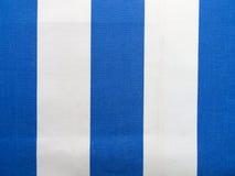 Tissu bleu et blanc image libre de droits
