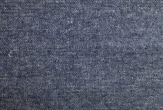 Tissu bleu et blanc de denim de coton Photographie stock