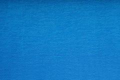 tissu bleu tricoté Image libre de droits