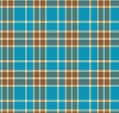 Tissu britannique à carreaux traditionnel de tartan illustration de vecteur