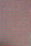 Tissu Checkered Photo libre de droits