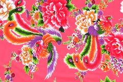Tissu chinois Photo libre de droits