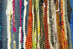 Tissu coloré Images libres de droits