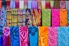 Tissu coloré Photo stock