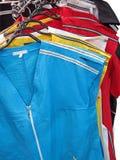 Tissu coloré de tissu pour le femme, couleurs, Image libre de droits