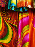 Tissu coloré Photographie stock libre de droits
