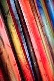 Tissu coloré par abstrait Images libres de droits