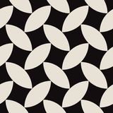 Tissu composé par modèle géométrique d'art abstrait image stock