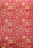 Tissu contemporain de configuration Image stock