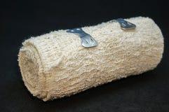Tissu couvert dans le sang - bandage Image libre de droits