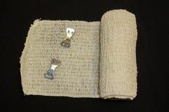 Tissu couvert dans le sang - bandage Photo libre de droits