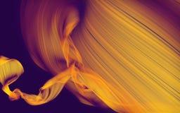 Tissu débordant abstrait Images libres de droits