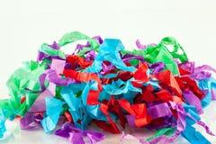 Tissu déchiqueté Images stock