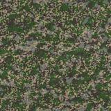 Tissu détaillé de camouflage. Texture sans couture. Image libre de droits