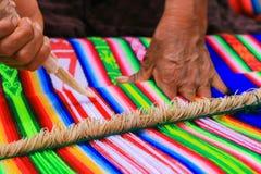 Tissu d'Aymara Photographie stock libre de droits