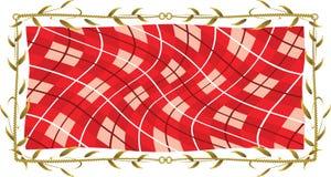 Tissu d'essuie-main illustration de vecteur