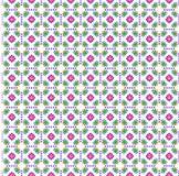 Tissu d'impression de fleur Photo stock