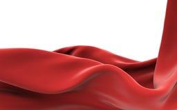 Tissu dans le vent Images libres de droits