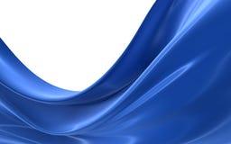 Tissu dans le vent Photos libres de droits