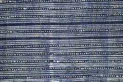 Tissu de batik d'indigo photos libres de droits