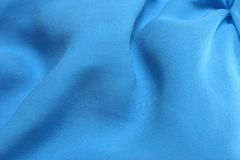 Tissu de bleu d'Aqua Photos stock