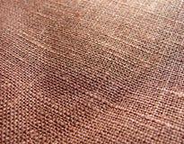 Tissu de Brown Photos stock