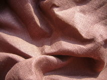 Tissu de Brown Photo stock