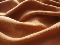 Tissu de Brown image stock