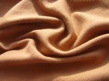 Tissu de Brown photographie stock