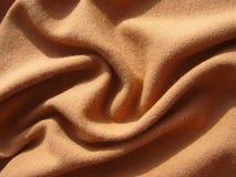 Tissu de Brown photographie stock libre de droits