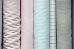 Tissu de chemise Images stock