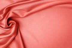 Tissu de corail de satin photo libre de droits