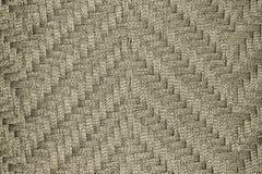 Tissu de corde de Brown Images stock