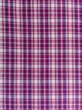 Tissu de coton écossais - modèle Images libres de droits