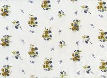 Tissu de coton Photographie stock libre de droits