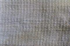 Tissu de coton blanc Photos stock