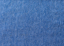 Tissu de coton bleu Images stock