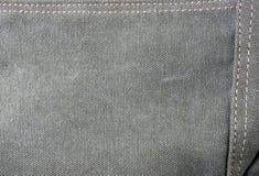 Tissu de coton brut de texture Photos stock