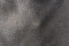 Tissu de coton brut de texture Photo libre de droits