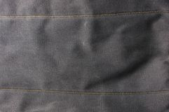 Tissu de coton brut de texture Image libre de droits