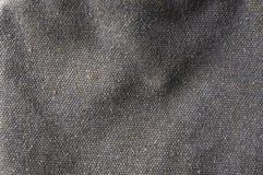 Tissu de coton brut de texture Photographie stock libre de droits