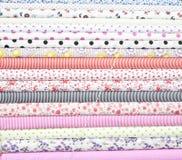 Tissu de coton coloré Images stock